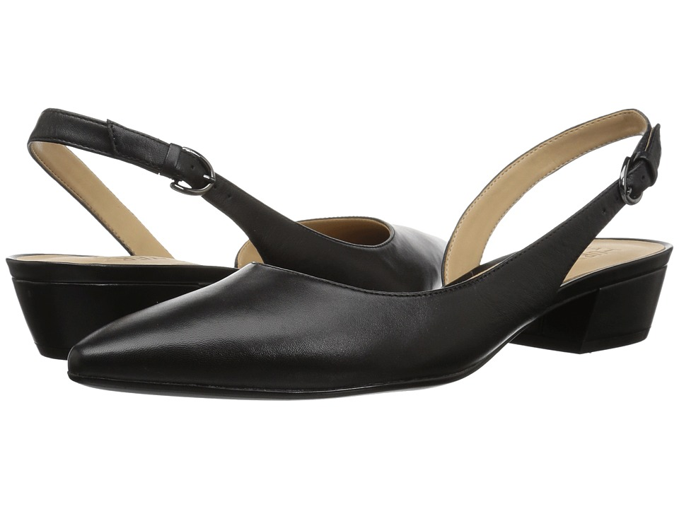 Naturalizer Banks (Black Leather) 1-2 inch heel Shoes