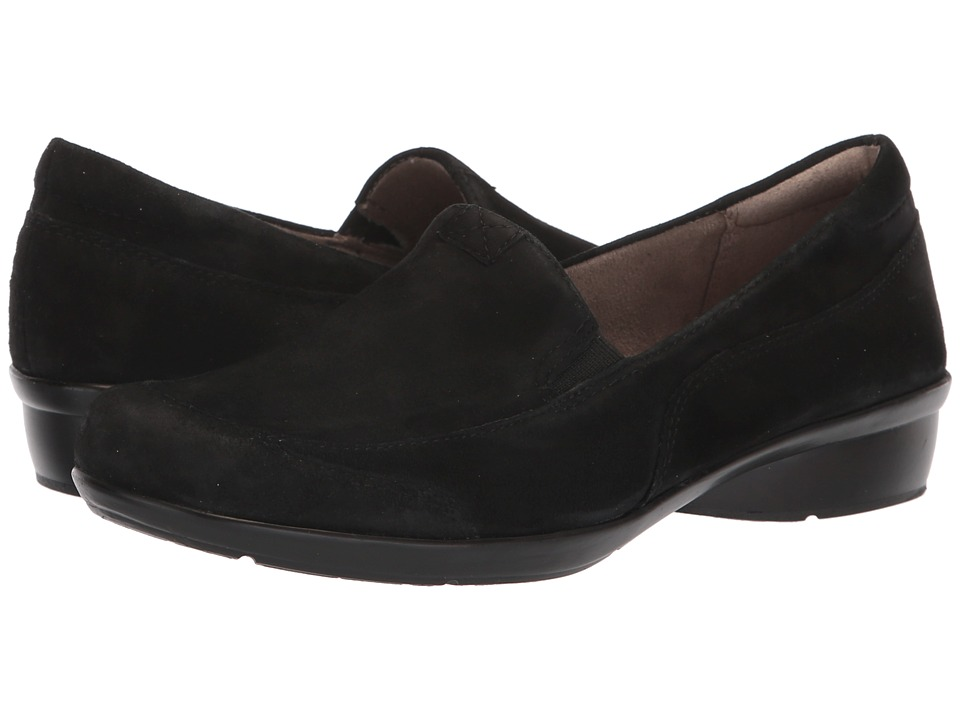 Naturalizer Channing (Black Suede) Slip-On Shoes