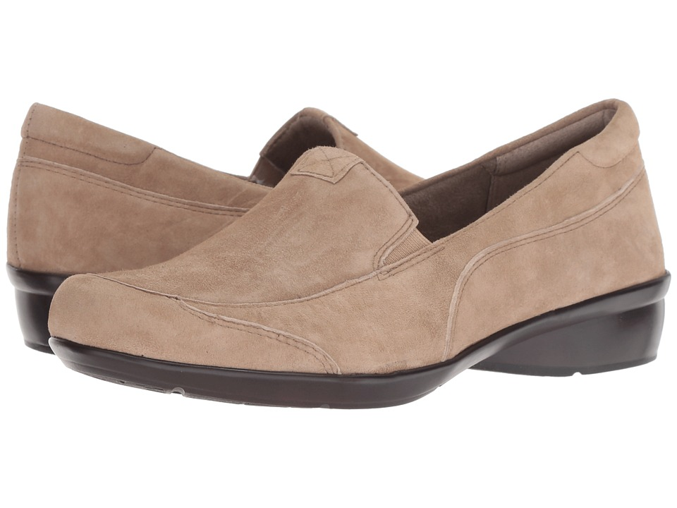 Naturalizer Channing (Oatmeal Suede) Slip-On Shoes