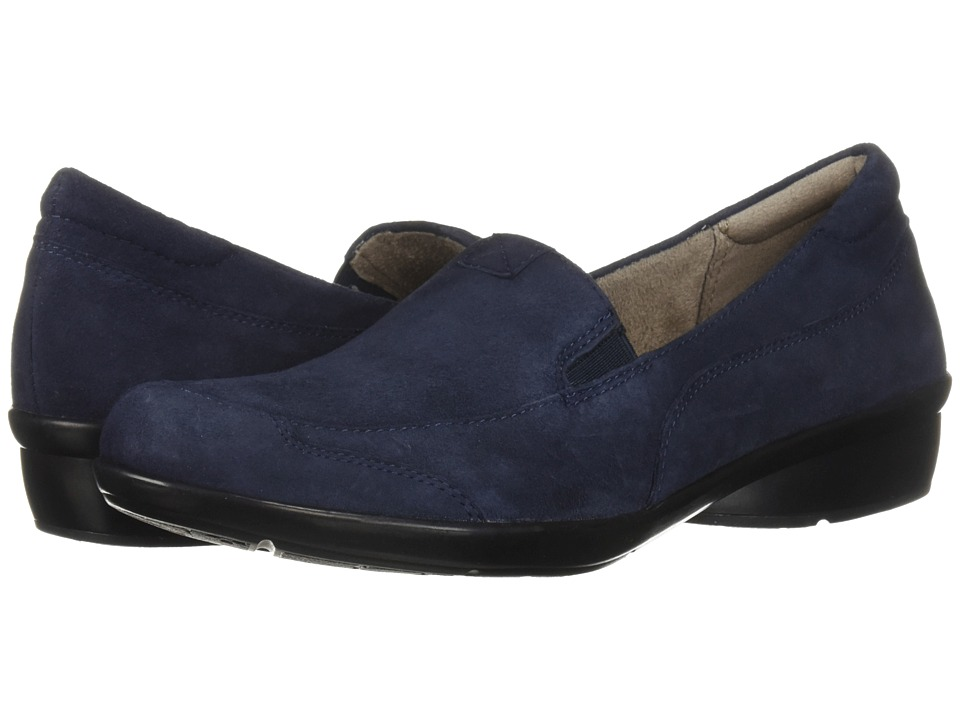 Naturalizer Channing (Inky Navy Suede) Slip-On Shoes