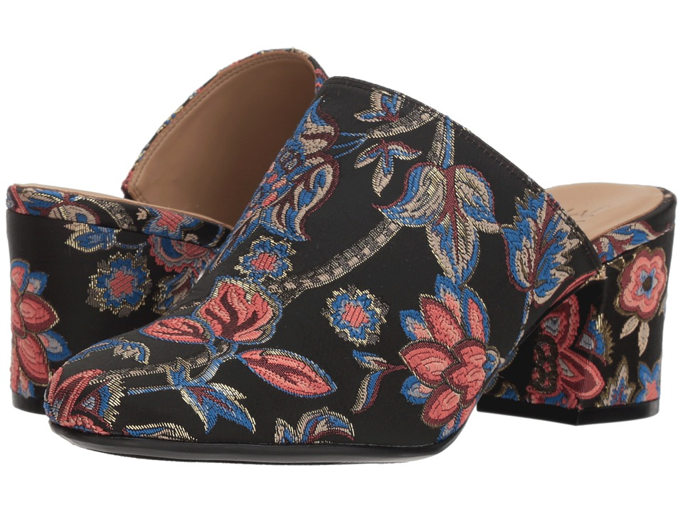 Naturalizer Daria (Black Multi Floral Brocade) Women's Shoes
