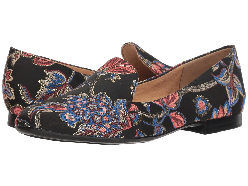 Naturalizer Emiline (Black Multi Floral Brocade Fabric) Women's Shoes