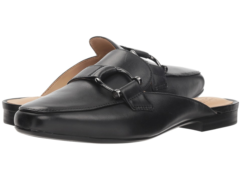 Naturalizer Etta (Black Leather) Slip-On Shoes