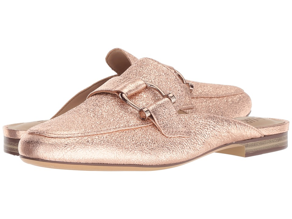 Naturalizer Etta (Rose Gold Sparkle Metallic Leather) Slip-On Shoes