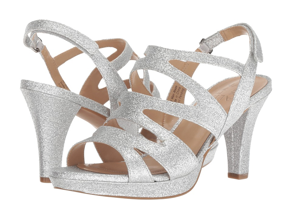 Naturalizer Pressley (Silver Mini Glitter) High Heels
