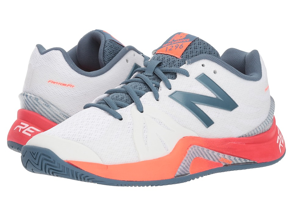New Balance WCH1296v2 Tennis (White/Dragonfly) Women's Tennis Shoes
