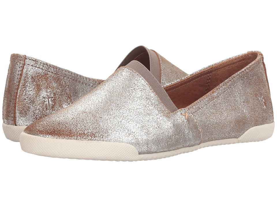 Frye Melanie Slip-On (Silver Multi Brushed Metallic) Slip-On Shoes