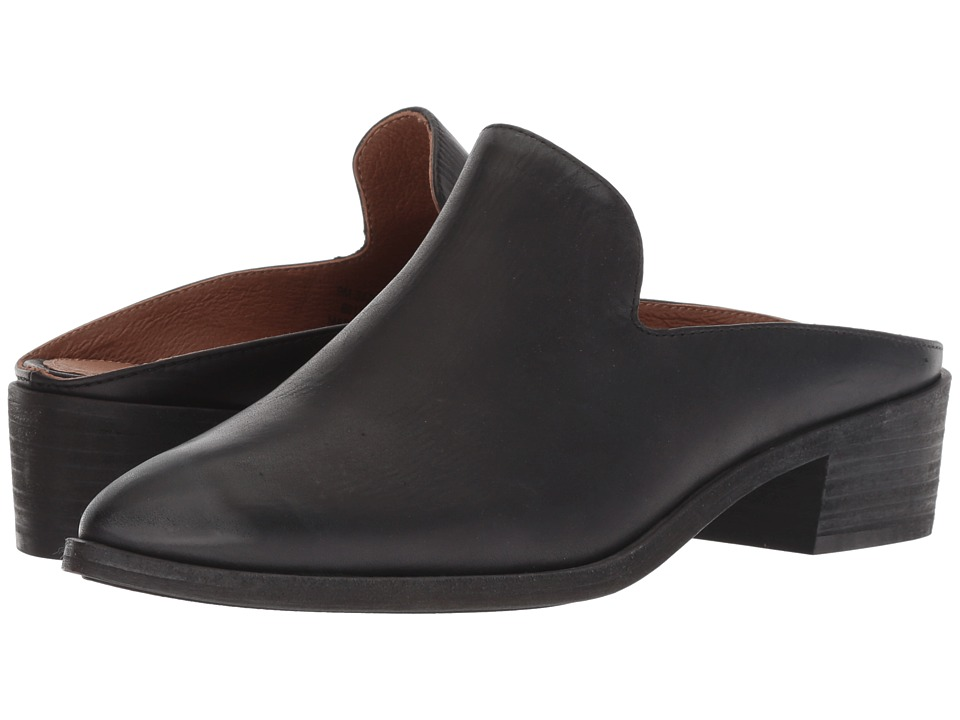 Frye Ray Mule (Black Antique Pull Up) Women's Clog/Mule Shoes