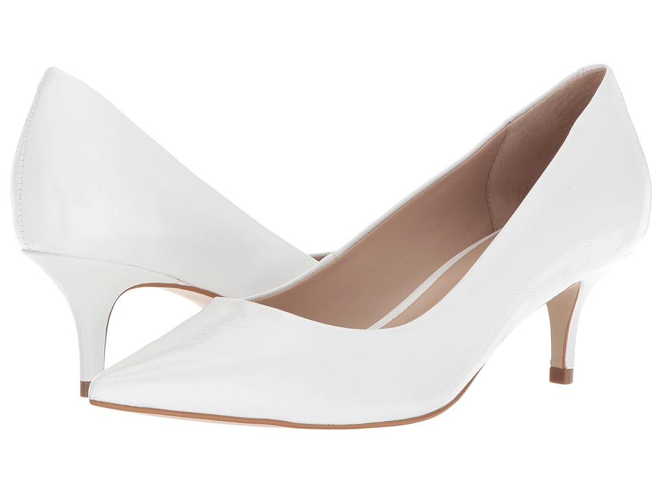 Steve Madden Sabrinah Pump (White Patent) Women's Shoes