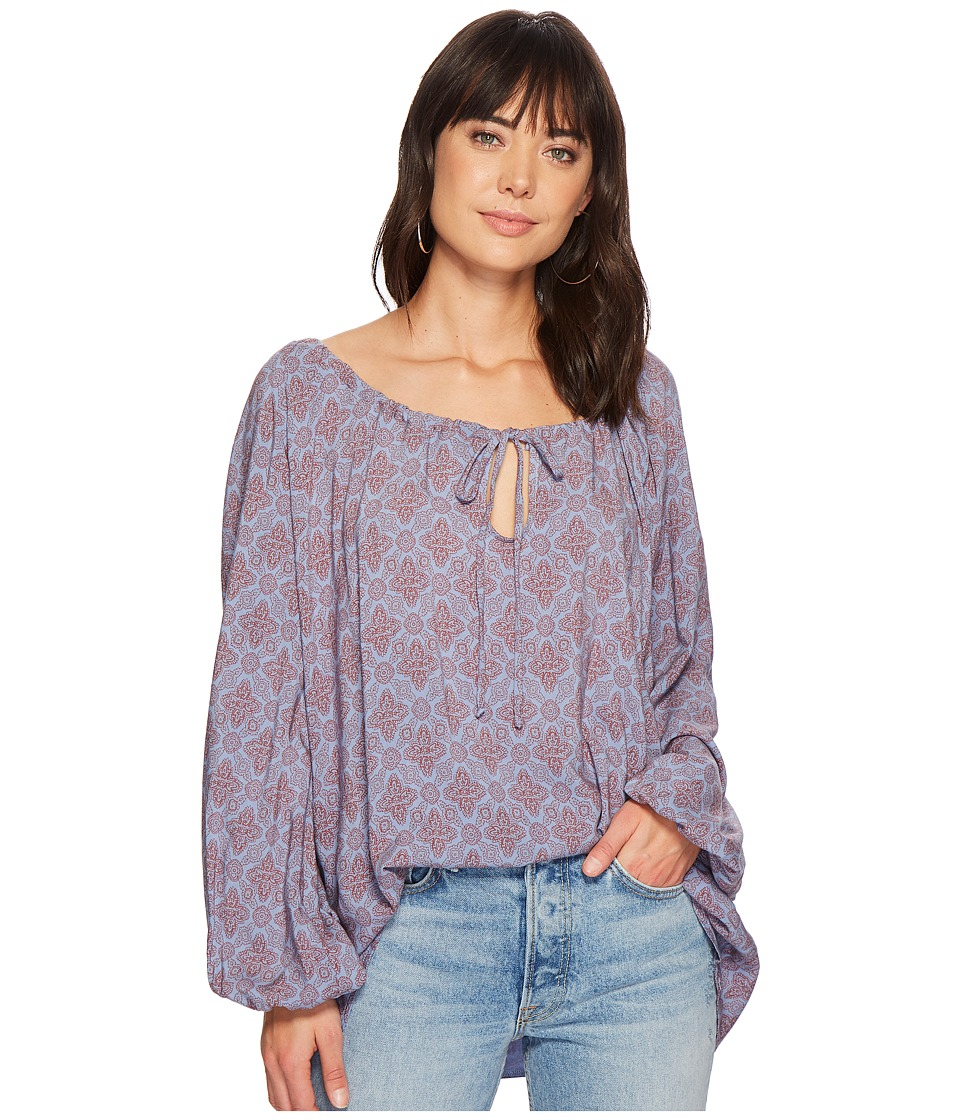 Jens Pirate Booty - Medallion Mina Tunic Top (Medallion Denim) Womens Clothing