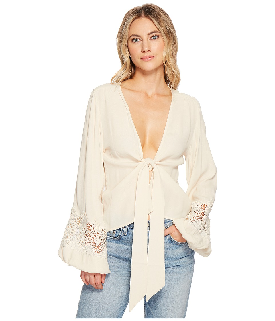 Jens Pirate Booty - Leola Top (Naturale Lace) Womens Clothing