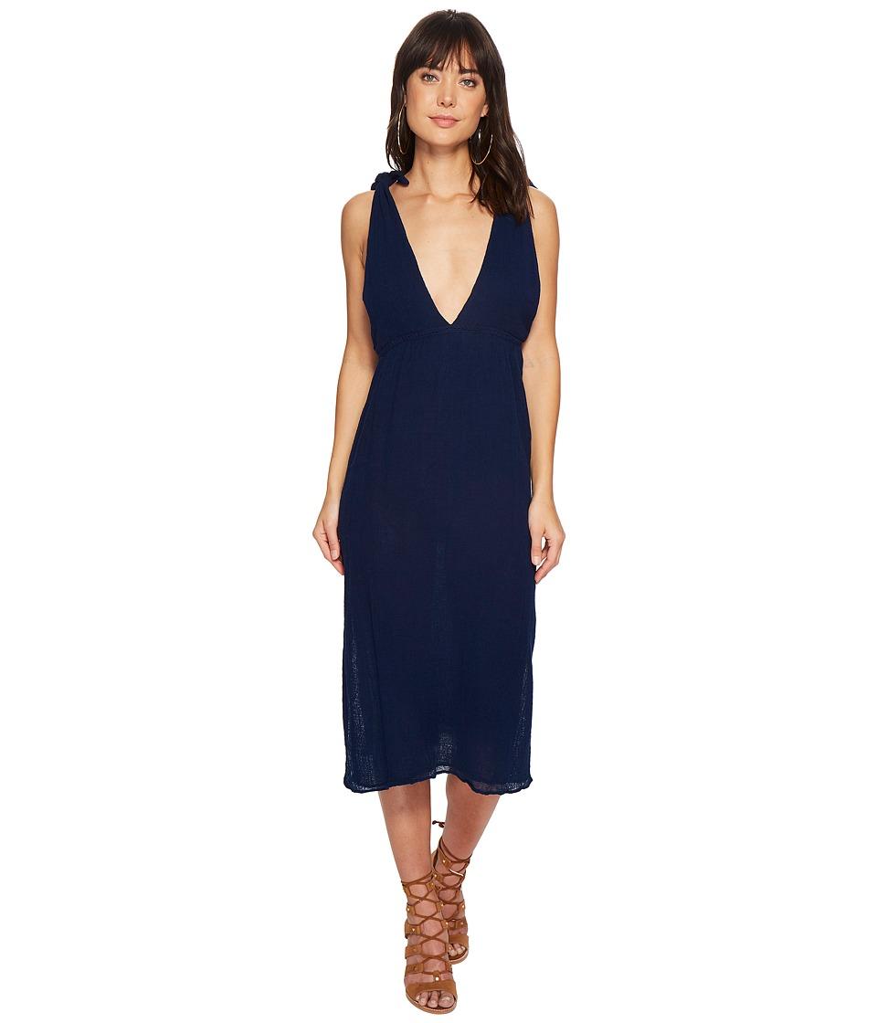 Jens Pirate Booty - Grotto Slip Dress (Indigo) Womens Dress