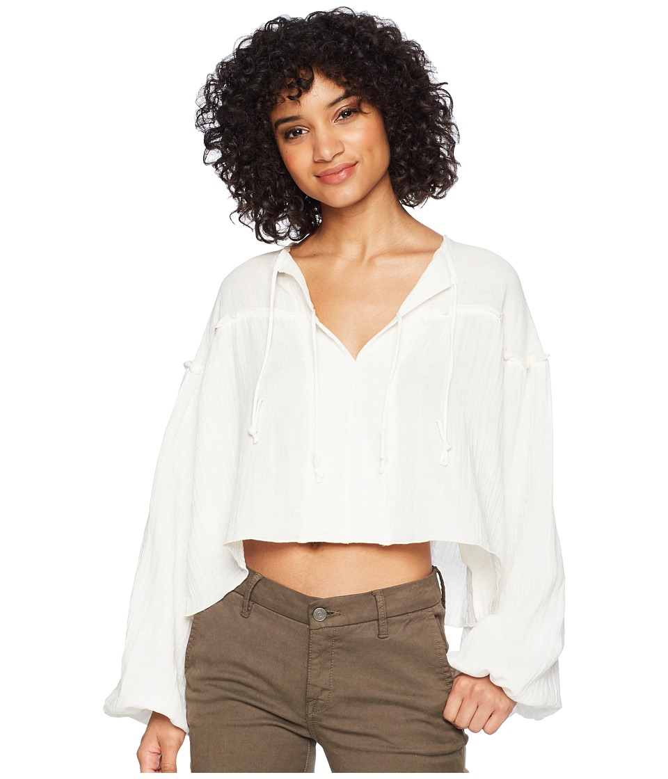 Jens Pirate Booty - Lissandra Top (White Wash) Womens Clothing