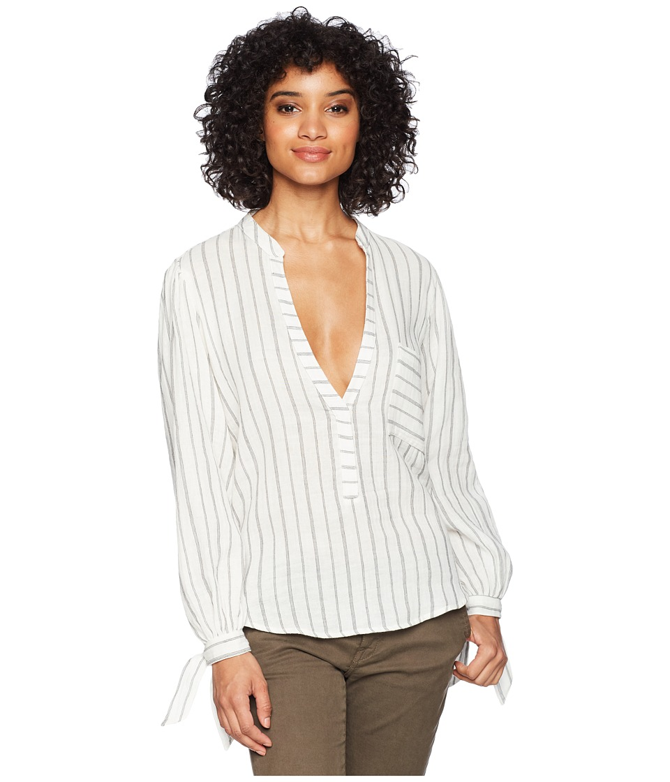 Jens Pirate Booty - Salerno Top (Pinstripe) Womens Clothing