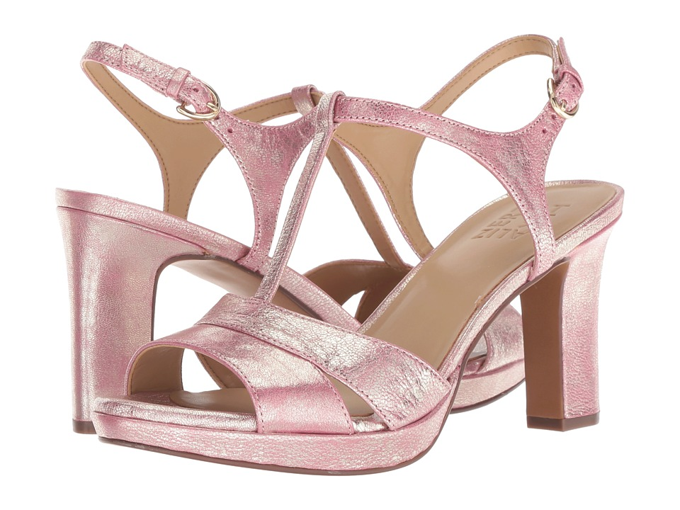 Naturalizer Finn (Pink Metallic Dust Leather) High Heels