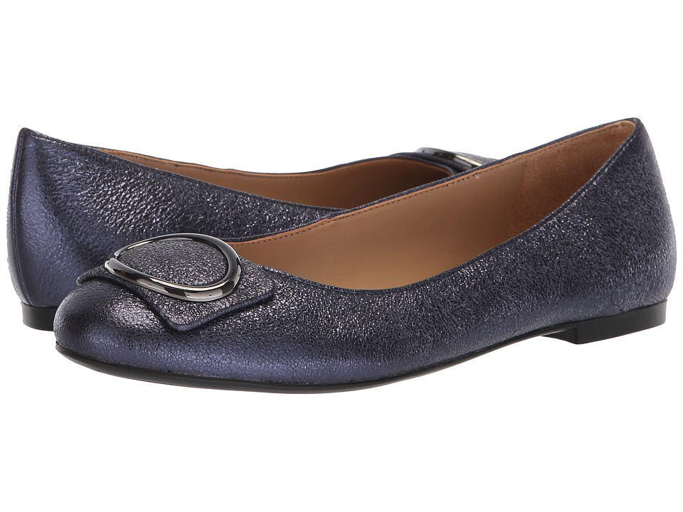 Naturalizer Geonna (Navy Sparkle Metallic Leather) Women's Shoes