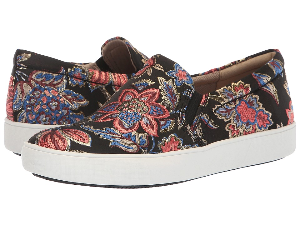 Naturalizer Marianne (Black Multi Floral Brocade Fabric) Women's Shoes