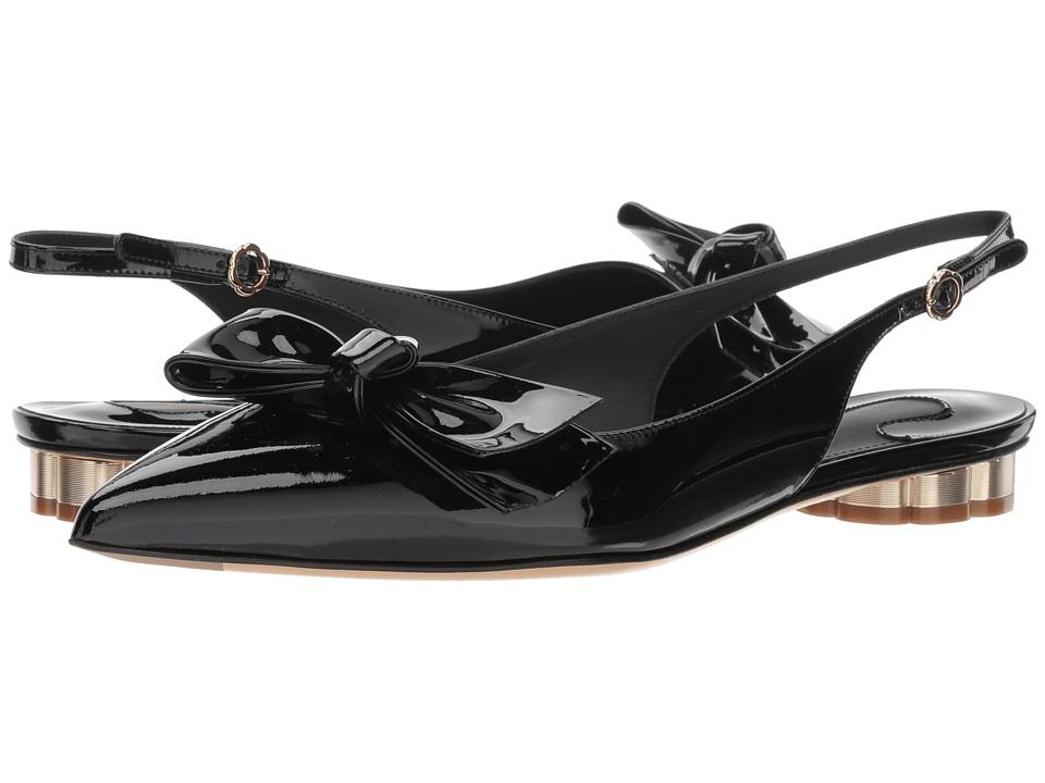Salvatore Ferragamo Aulla (Nero) Women's Shoes