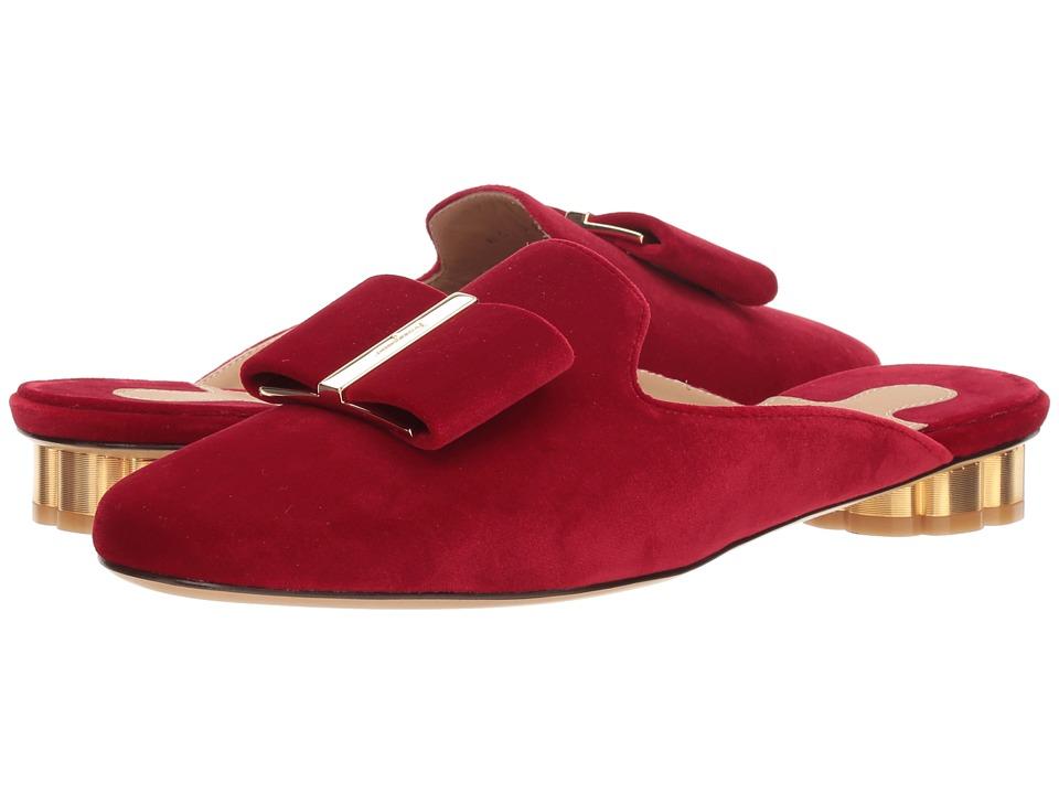 Salvatore Ferragamo Sciacca T (Rosso) Slip-On Shoes