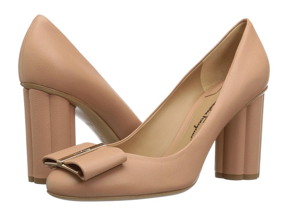Salvatore Ferragamo Capua 85 (New Blush) High Heels