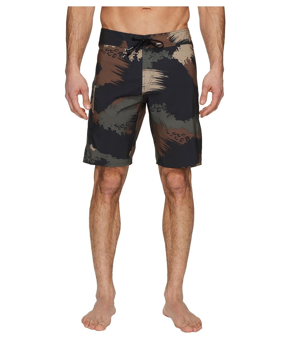 Volcom Lido Solid Mod 20 Boardshorts (Military) Men