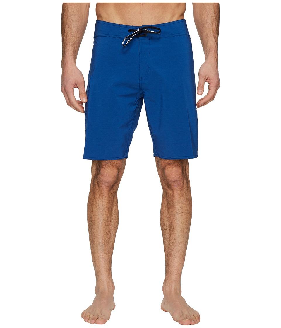 Volcom Lido Solid Mod 20 Boardshorts (Camper Blue) Men