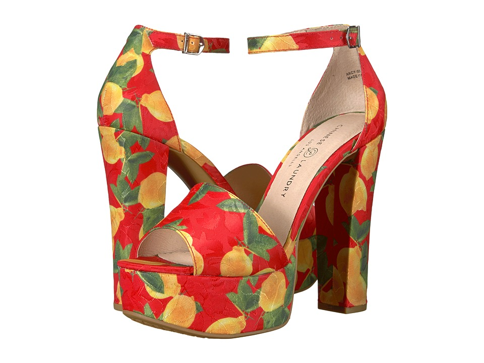 Chinese Laundry - Avenue 2 (Red Lemon Print) High Heels