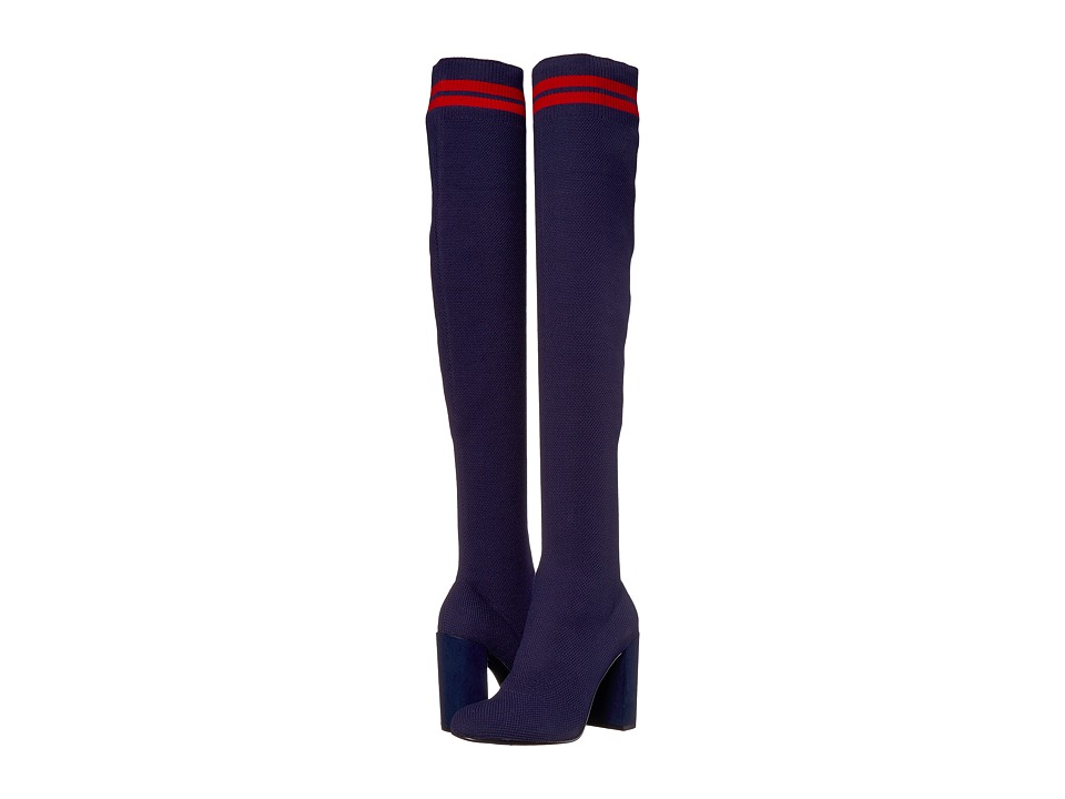 Chinese Laundry Beloved Boot (Bright Navy Knit) Women