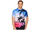 BUGATCHI Short Sleeve Crew Neck T-Shirt