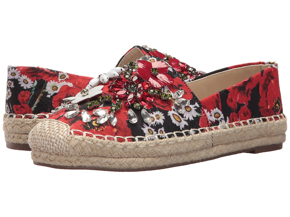 Chinese Laundry Hayden Flat (Red Floral Print) Women