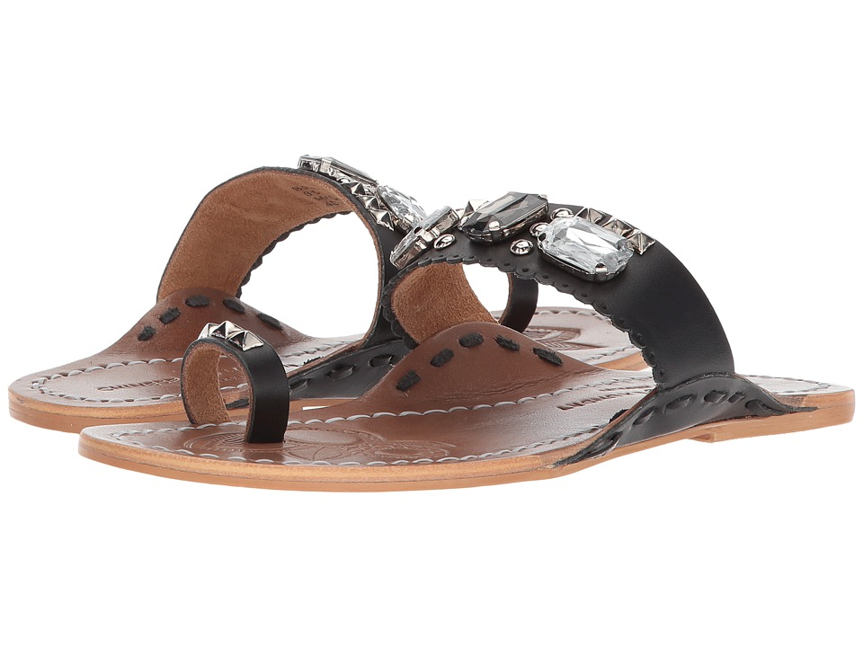 Chinese Laundry - Jada Sandal (Black Leather) Womens Sandals