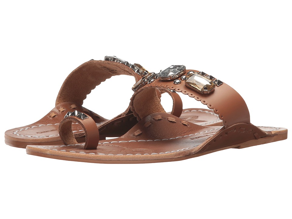 Chinese Laundry Jada Sandal (Tan Leather) Sandals