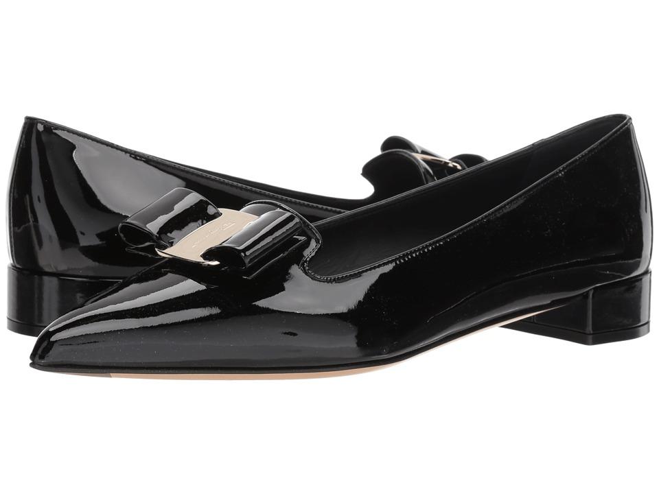 Salvatore Ferragamo Alice (Nero) Slip-On Shoes