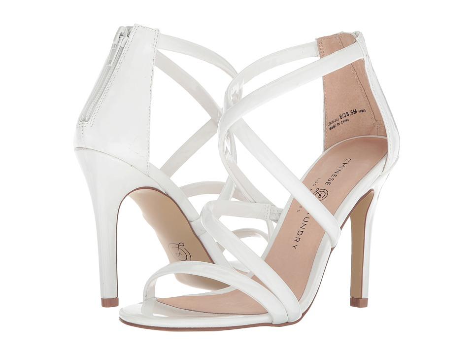 Chinese Laundry - Jillian (White Patent) High Heels