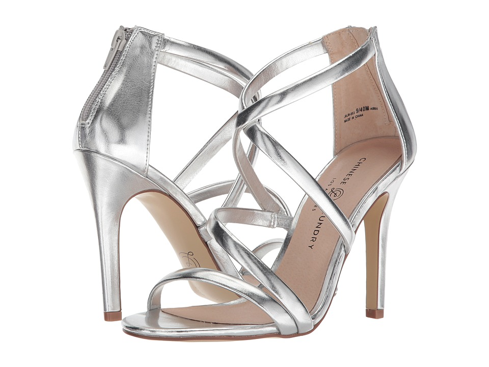 Chinese Laundry Jillian (Silver Dazzle Me) High Heels
