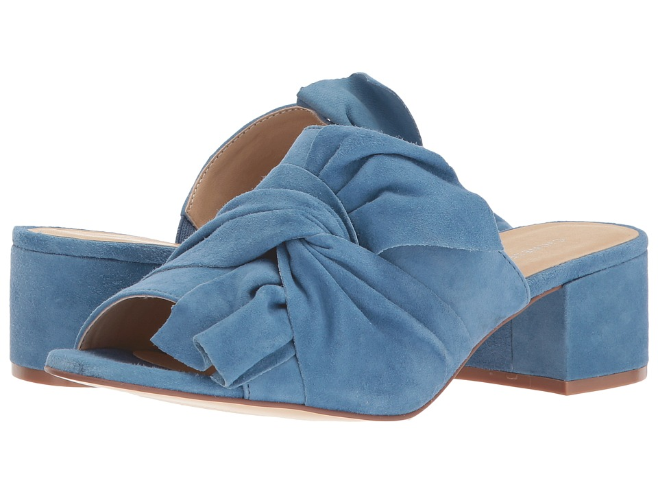Chinese Laundry - Marlowe Sandal (Blue Kid Suede) Womens Shoes