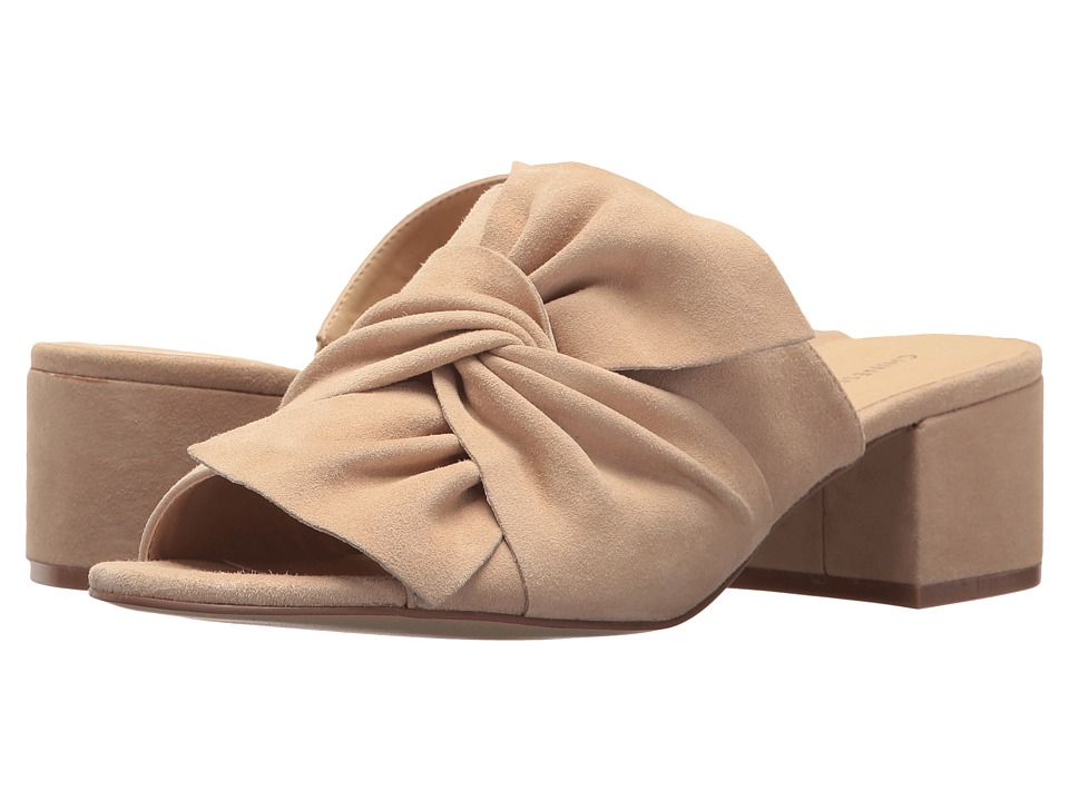 Chinese Laundry Marlowe Sandal (Nude Kid Suede) Women's Shoes