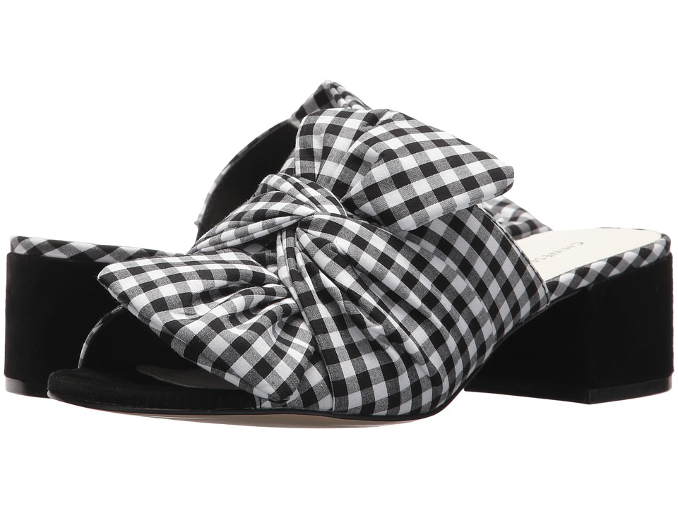 Chinese Laundry Marlowe Sandal (Black/White Gingham) Women's Shoes