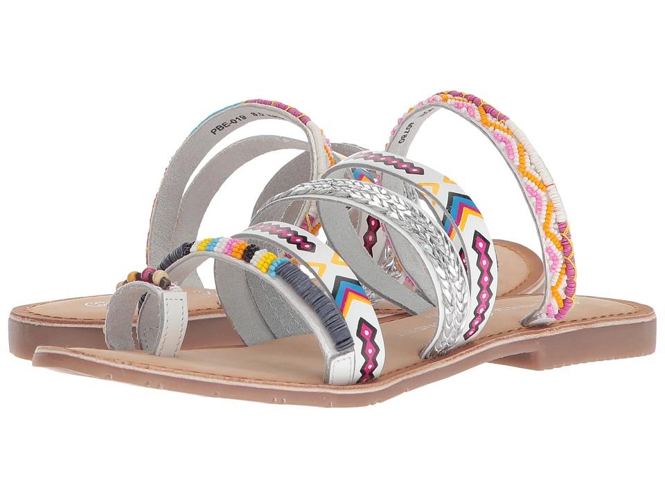 Chinese Laundry Pandora Sandal (White Multi Leather) Sandals