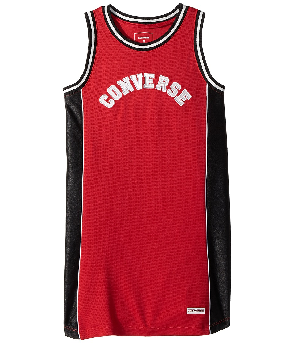 Converse Kids - Basketball Jersey Dress (Big Kids) (Enamel Red) Girls Dress