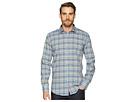 BUGATCHI Shaped Fit Plaid Woven Shirt