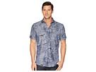 BUGATCHI Shaped Fit Paradise Print Woven Shirt
