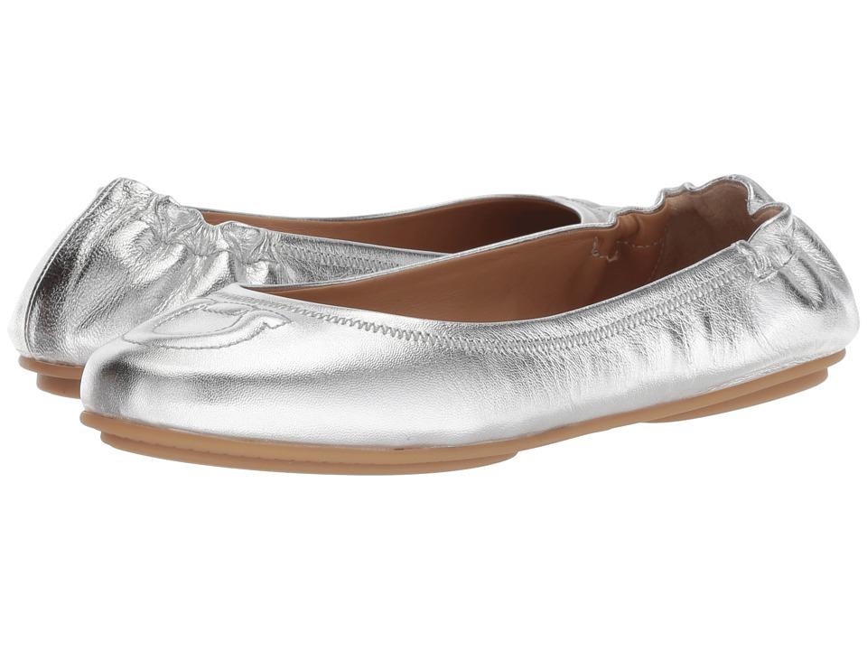 Salvatore Ferragamo Vignola (Silver/Argento) Women's Dress Flat Shoes