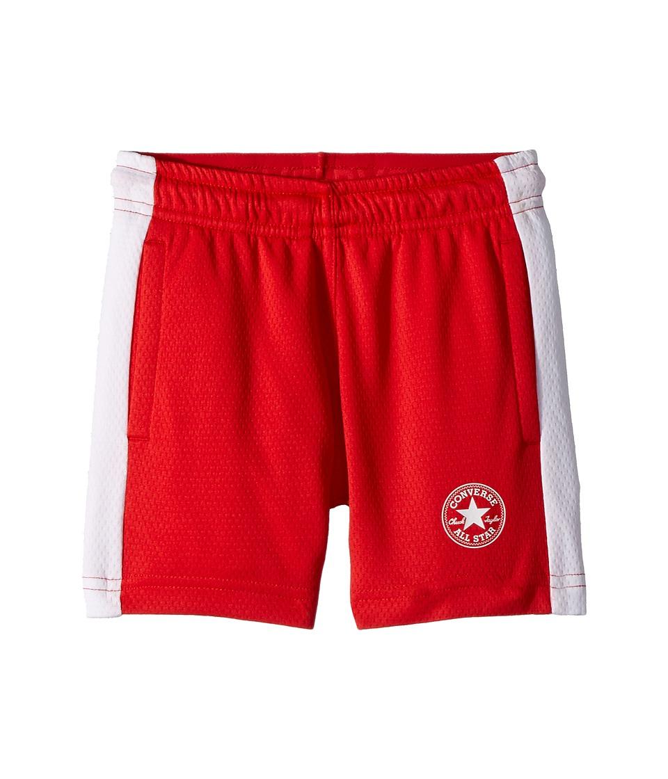 Converse Kids - Mesh Shorts (Little Kids) (Red) Boys Shorts