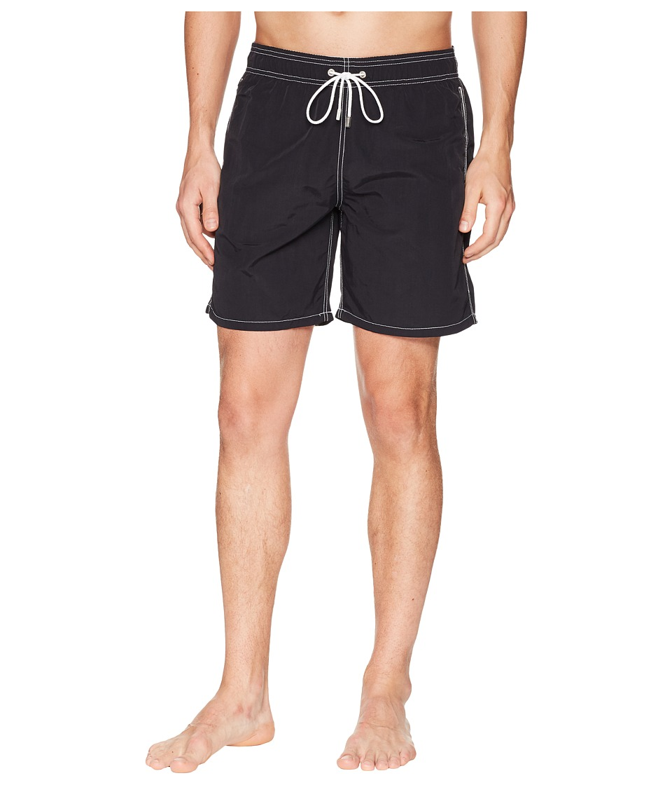 BUGATCHI - Swimwear JXM550M4 (Black) Mens Swimwear