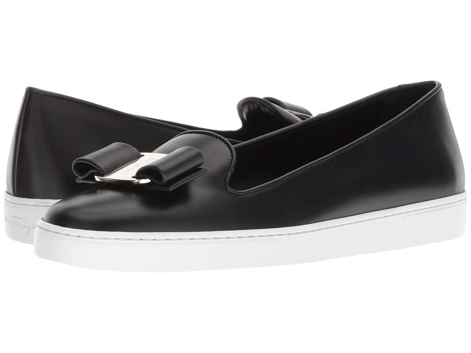 Salvatore Ferragamo Novello (Nero) Slip-On Shoes