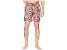 BUGATCHI Tropical Print Swim Trunk