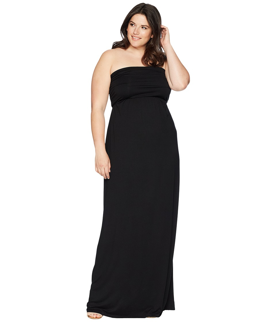KARI LYN - Plus Size Hally Dress (Black) Womens Dress