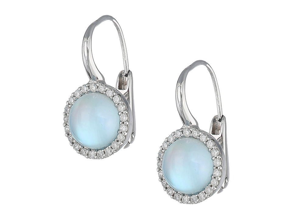 Roberto Coin Cocktail Collection Earrings 18Kt (Blue Topa...