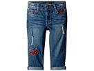 Lucky Brand Kids Demetra Butterfly Jeans in Ada Wash (Toddler)